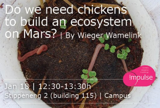 Do we need chickens to build an ecosystem on Mars?
